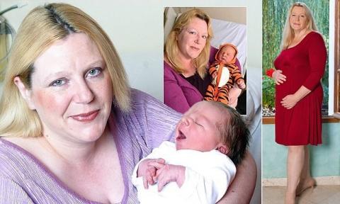 Суррогатная мать планирует родить 16-го ребенка после 50