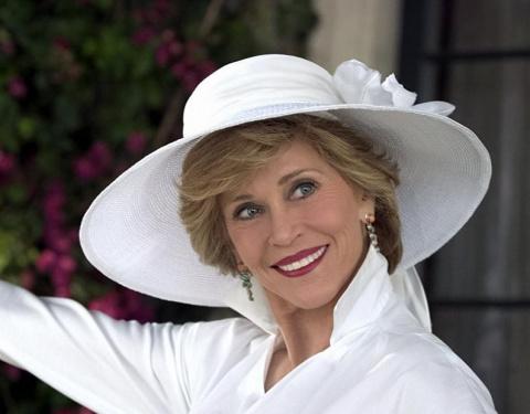 Первая красавица 70-ых Джейн Фонда в преклонном возрасте.