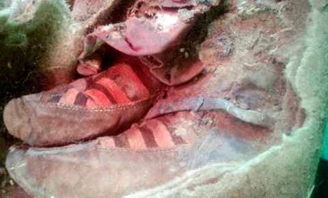 Мумию в кроссовках «Адидас» нашли в Монголии