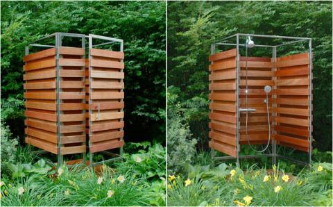 Как использовать для полива сточную воду из летнего душа?