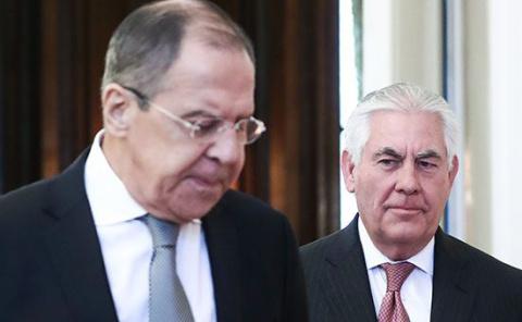 Лавров призвал Тиллерсона вернуть изъятую собственность России