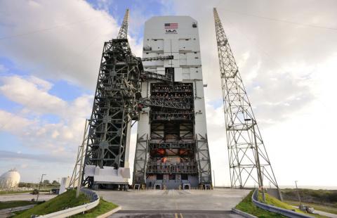 """Разработки НАСА: корабль «Орион» и SLS (""""The Atlantic """", США)"""