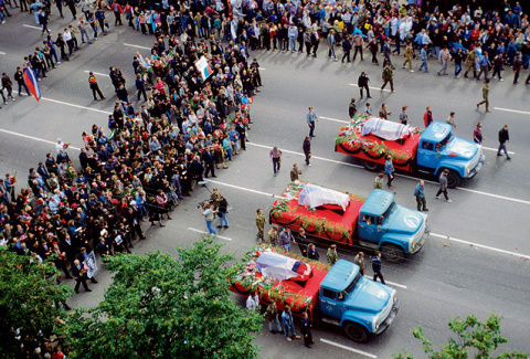Херои августовского майдана