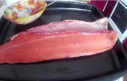 Малосольный лосось, длительного хранения, или как сохранить малосольного лосося долго!