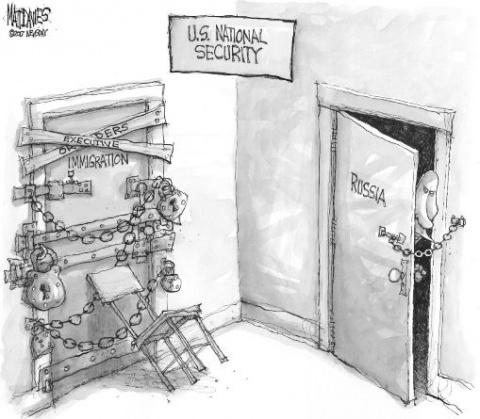 Коварный Путин бросает вызов…