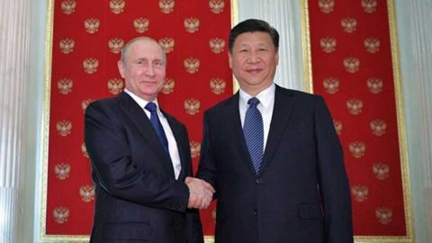 Антанта России и Китая