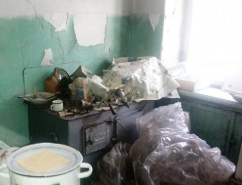 В этой кухне не делали ремон…