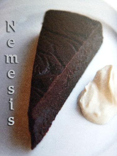 Простой шоколадный торт Nemesis