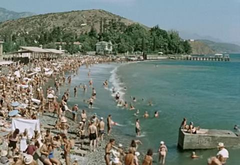 Пляжные сцены в кино