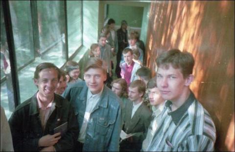 Студенты в 1990-е