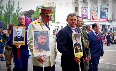 Гиви и Моторола в Бессмертном полку Донбасса| Легенды не умирают