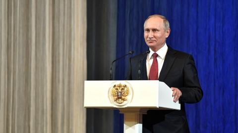 Снятый ко дню рождения Путин…
