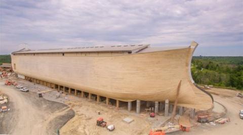 Ноев ковчег в натуральную ве…