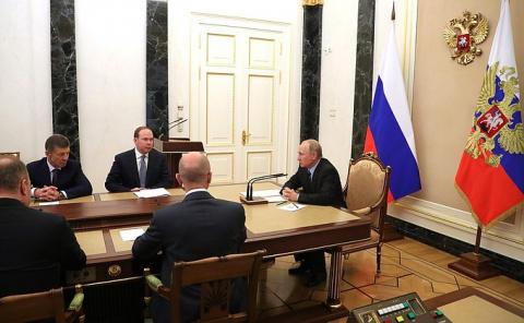 Встреча с вновь избранными главами регионов - НОВОСТИ НЕДЕЛИ
