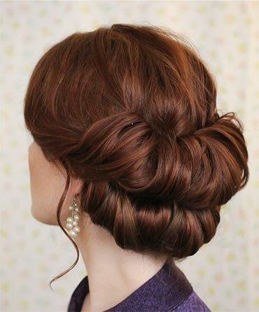 Секреты красоты. Изящная причёска для длинных волос