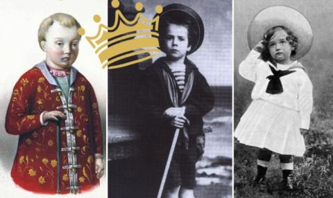 Воспитание царских детей в России
