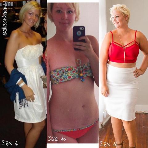 Женщина, которую лишний вес …