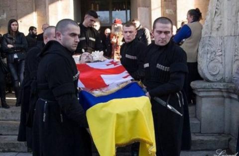 Ради чего погиб на Донбассе отставной грузинский офицер?
