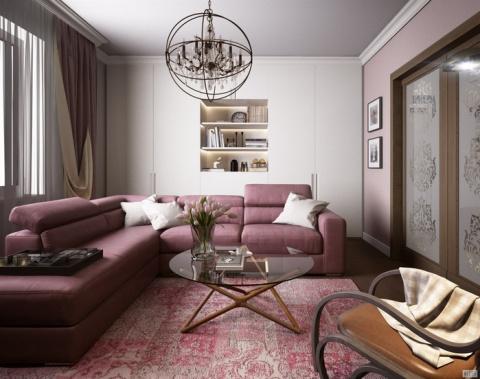 Дизайн двухкомнатной квартир…