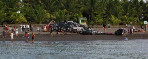 """""""Мёртвый кит"""" на филиппинском побережье как предостережение об угрозе гибели океана"""