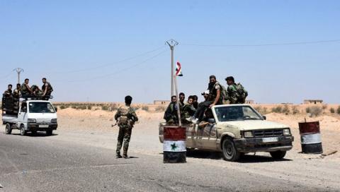 Сирия: правительственная арм…