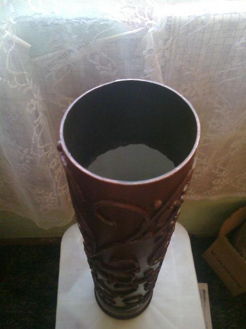 Напольная ваза. Пейп-арт. МК.