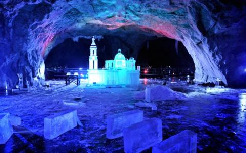 Появились фото создания Исаакиевского собора в подземелье Рускеалы
