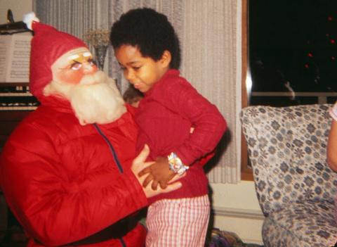 Фото с Санта-Клаусом из прош…