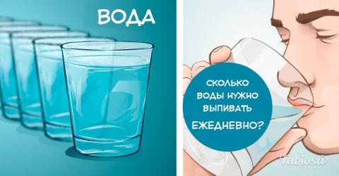 Вот сколько воды вам нужно в…