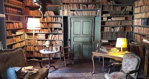 В бельгийском городке нашли частную библиотеку, куда никто не заходил 200 лет