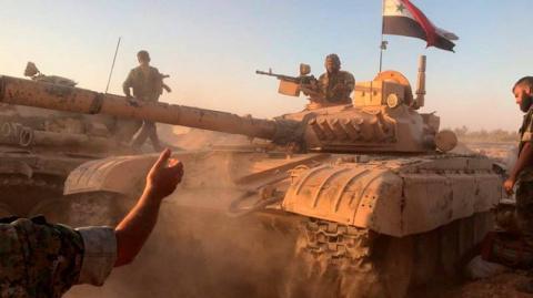 Боевики в провинции Хама уго…
