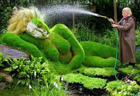 Садовое искусство!