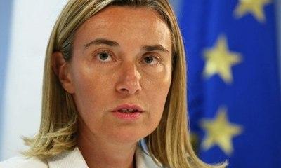 Диалог с Турцией по вступлению в ЕС не заморожен — Могерини