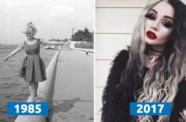 Фото девушек 30 лет назад, не сравнить с современнностью)