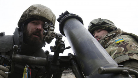 Украина отправила в Донбасс …