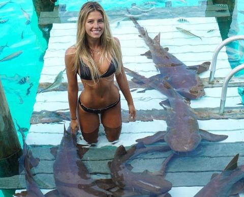 Она путешествует по миру ради фотографий с невероятными морскими существами