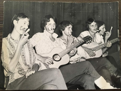 Битлы в соколе 1980г.