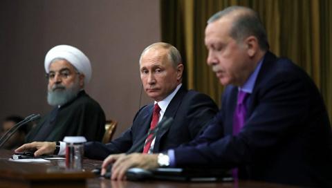 Путин уронил стул Эрдогана н…