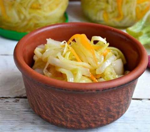 Салат из кабачков на зиму