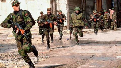 Сирия: армия Асада берет под контроль стратегические точки