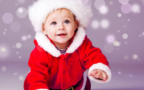 А Дед Мороз - НАСТОЯЩИЙ!!!