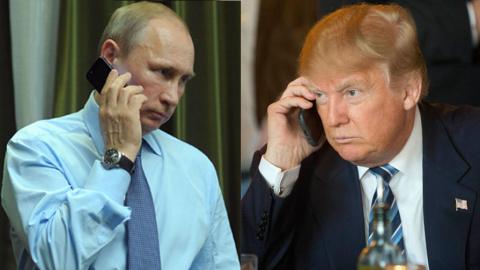 Чем Трамп занимается с Путин…