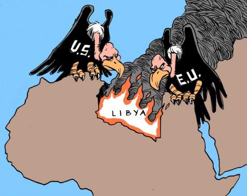 Запад продолжает «распил» Ливии