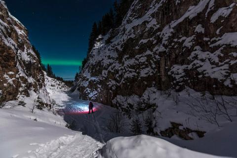 Волшебная ночь в Северной Карелии