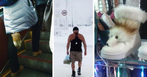 Основные тренды зимней моды, которые просто не укладываются в голове