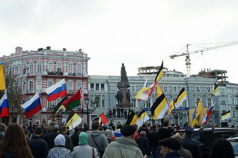 «Все нормальные люди ждут Путина», — нацист обомлел от разговора в Одессе