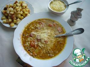 ДЕНЬ ПЕРВОГО БЛЮДА. Тосканский суп (вып. 3)