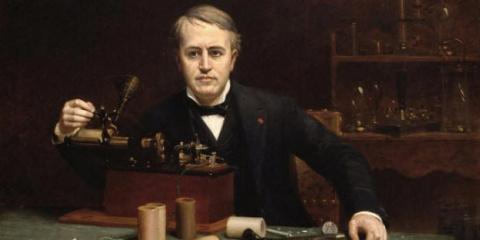 Эдисон создал аппарат для общения с потусторонним миром