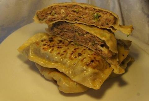 Китайские лепешки с мясом-бе…