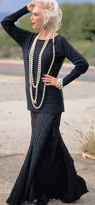15 модниц возраста 60 плюс , которые доказывают, что стиль остается навсегда